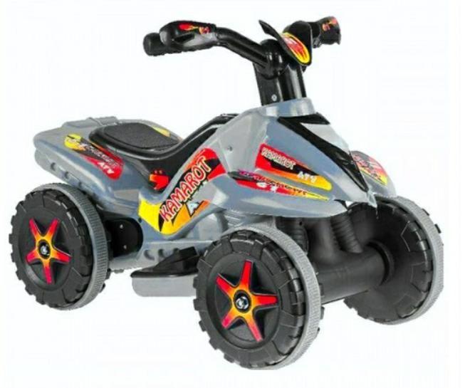 Jusso Fast Kamarot Akülü Atv 6V - Gri