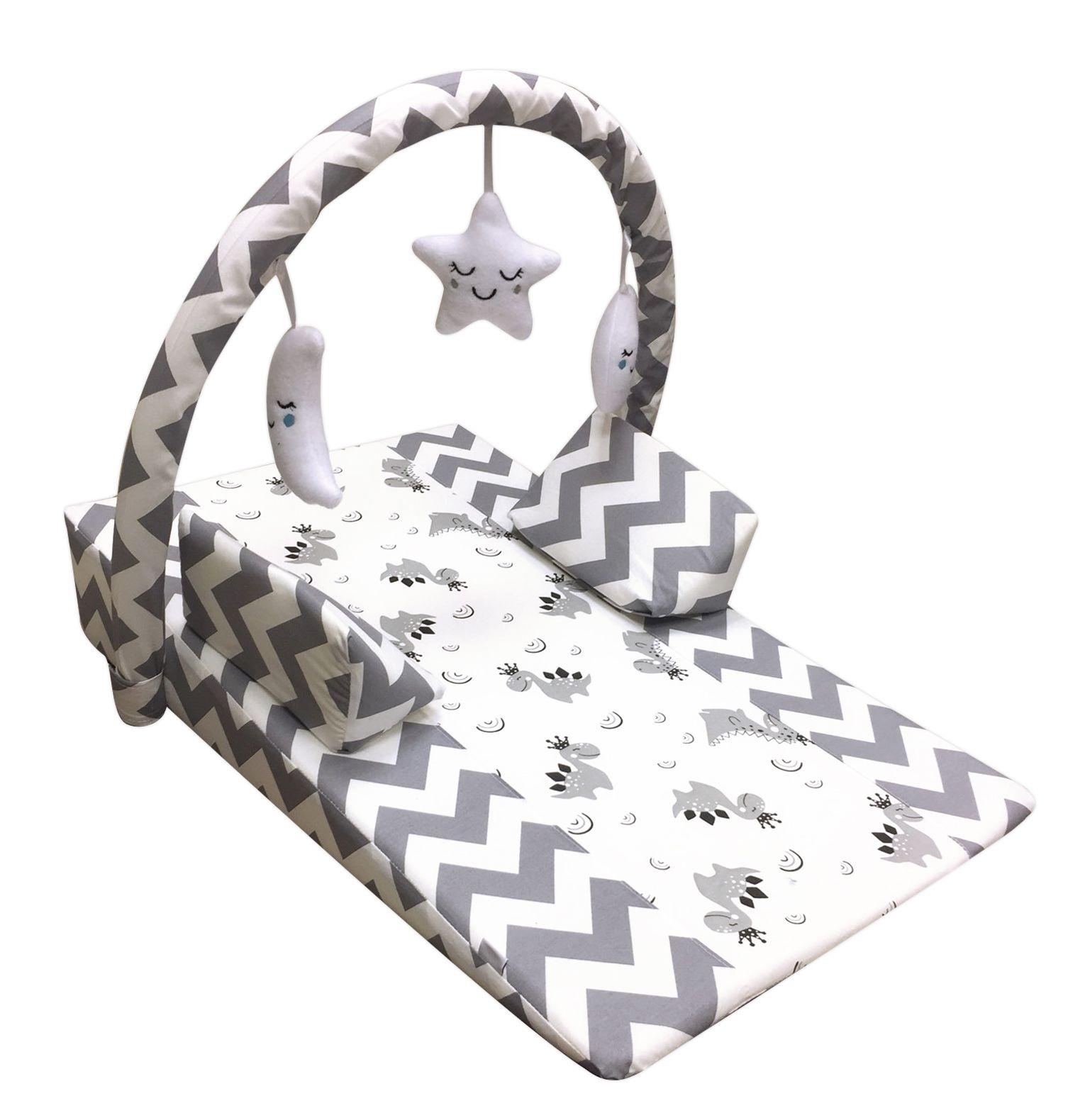 Pierre Cardin Oyuncaklı Bebek Reflü Yatağı - Gri