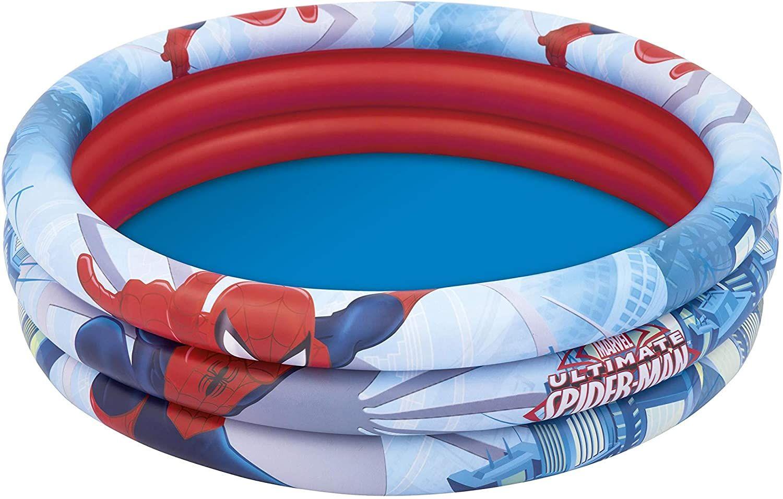 Bestway 98018 3 Halkalı Spider Man Oyun Havuzu 122x30 Cm