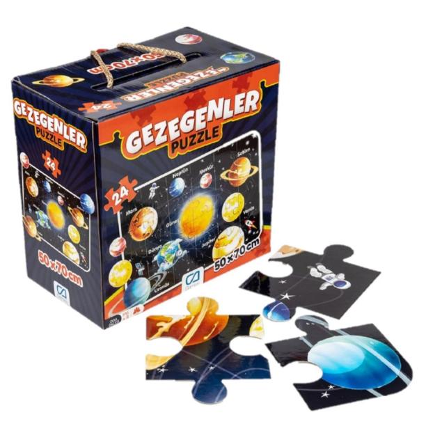 CA Games 5026 Gezegenler 24 Parça Puzzle